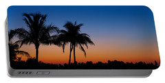 Sanibel Island Florida Sunset Portable Battery Charger