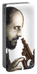 Santiago Ramon Y Cajal, Scientist Portable Battery Charger