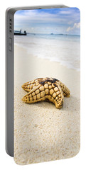 Sea Star On Beach Portable Battery Charger