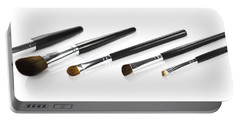 Set Of Makeup Brushes Portable Battery Charger