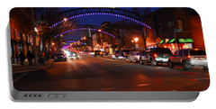 D8l353 Short North Arts District In Columbus Ohio Photo Portable Battery Charger