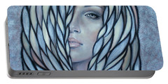 Silver Nymph 021109 Portable Battery Charger by Selena Boron