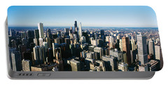 Skyscrapers In A City, Hancock Portable Battery Charger by Panoramic Images
