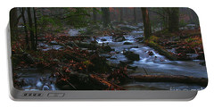 Smoky Mountain Color Portable Battery Charger by Douglas Stucky