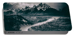 Snake River In The Tetons - 1930s Portable Battery Charger