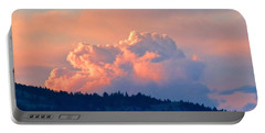 Soothing Sunset Portable Battery Charger by Will Borden