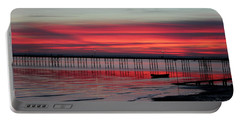 Southend Pier Sunset Portable Battery Charger