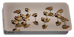Spur-winged Lapwing Vanellus Spinosus Portable Battery Charger