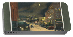 State Street Bristol Va Tn 1920's - 30's Portable Battery Charger