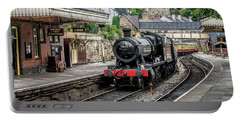 Portable Battery Charger featuring the photograph Steam Train by Adrian Evans