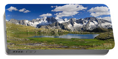 Portable Battery Charger featuring the photograph Strino Lake - Italy by Antonio Scarpi