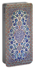 Sultan Selim II Tomb 16th Century Hand Painted Wall Tiles Portable Battery Charger