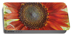 Sunflower Portable Battery Charger by Kathy Bassett