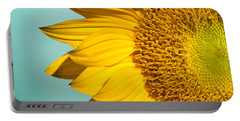 Sunflower Portable Battery Charger by Mark Ashkenazi