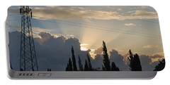 Sunrise Portable Battery Charger by George Katechis