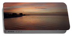 Portable Battery Charger featuring the photograph Sunrise Over Fort Myers Beach Photo by Meg Rousher