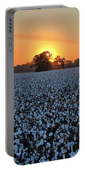 Sunset Over Cotton Portable Battery Charger
