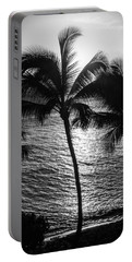 Sunset Silhouette Portable Battery Charger by Colleen Coccia