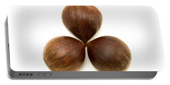 Portable Battery Charger featuring the photograph Sweet Chestnuts Fruits by Fabrizio Troiani
