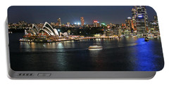 Sydney Harbor At Circular Quay Portable Battery Charger by Ellen Henneke
