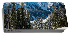 Tatoosh Winter Wonderland Portable Battery Charger