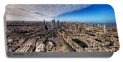 Tel Aviv Skyline Portable Battery Charger