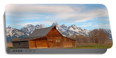 Teton Barn Portable Battery Charger by Steve Stuller