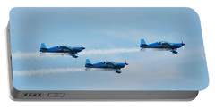 The Blades Aerobatic Team Portable Battery Charger
