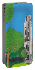 The Cathedral Of Learning Portable Battery Charger