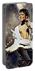 The King Of Pop Portable Battery Charger
