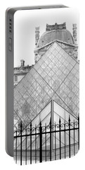 The Louvre Portable Battery Charger