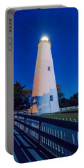 The Ocracoke Lighthouse On Ocracoke Island On The North Carolina Portable Battery Charger