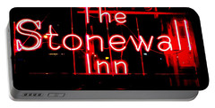 The Stonewall Inn Portable Battery Charger by Ed Weidman