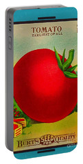Tomato Seed Package. Antique. 100 Years Old Portable Battery Charger