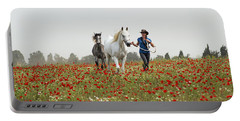 Three At The Poppies' Field... 3 Portable Battery Charger