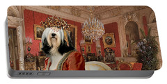Tibetan Terrier Art Canvas Print Portable Battery Charger