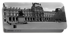 Tourists In The Courtyard Of A Museum Portable Battery Charger by Panoramic Images
