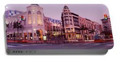 Traffic On The Road, Rodeo Drive Portable Battery Charger by Panoramic Images