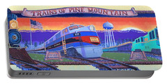 Trains Of Pine Mountain Portable Battery Charger