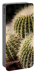 Triple Cactus Portable Battery Charger