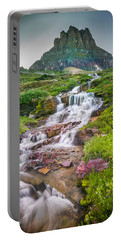 Triple Falls Stream Glacier National Park Portable Battery Charger