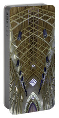 Trussed Arches Of Uf Chapel Portable Battery Charger