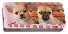 Two Chihuahuas Portable Battery Charger