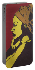 Portable Battery Charger featuring the painting Untitled by Rachel Natalie Rawlins