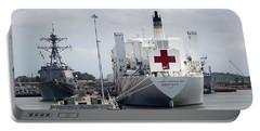 Us Naval Hospital Ship Comfort Portable Battery Charger