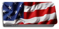 Usa Flag No.52 Portable Battery Charger