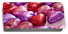 Valentine Hearts Portable Battery Charger
