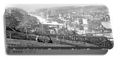 View Of Conshohocken Pennsylvania C 1900 Portable Battery Charger