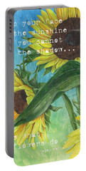 Vince's Sunflowers 1 Portable Battery Charger