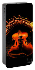 Violin Light Painting Portable Battery Charger
